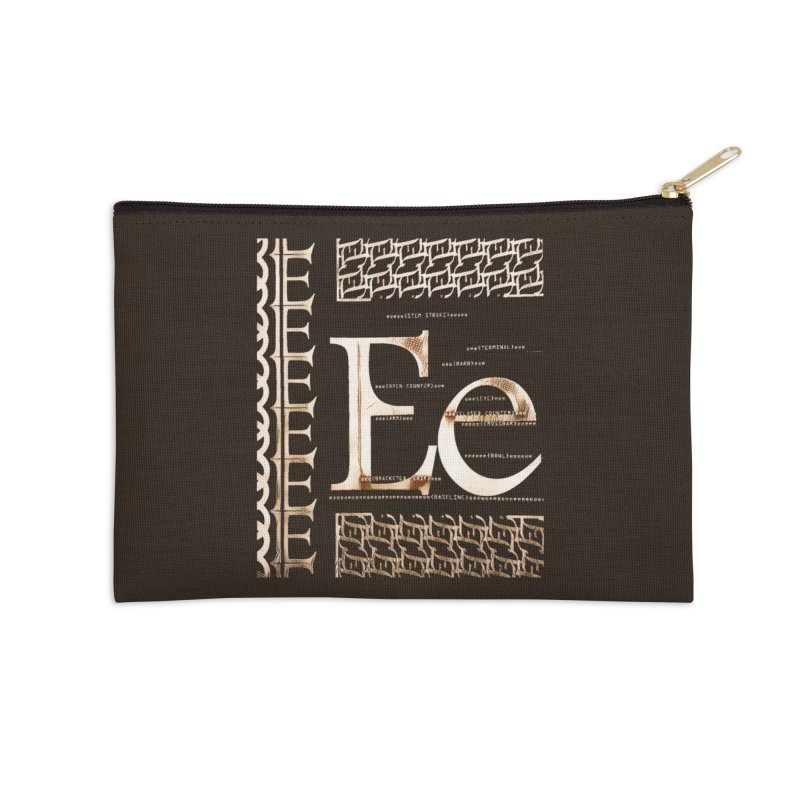 Eee Accessories Zip Pouch by dasiavou's Artist Shop