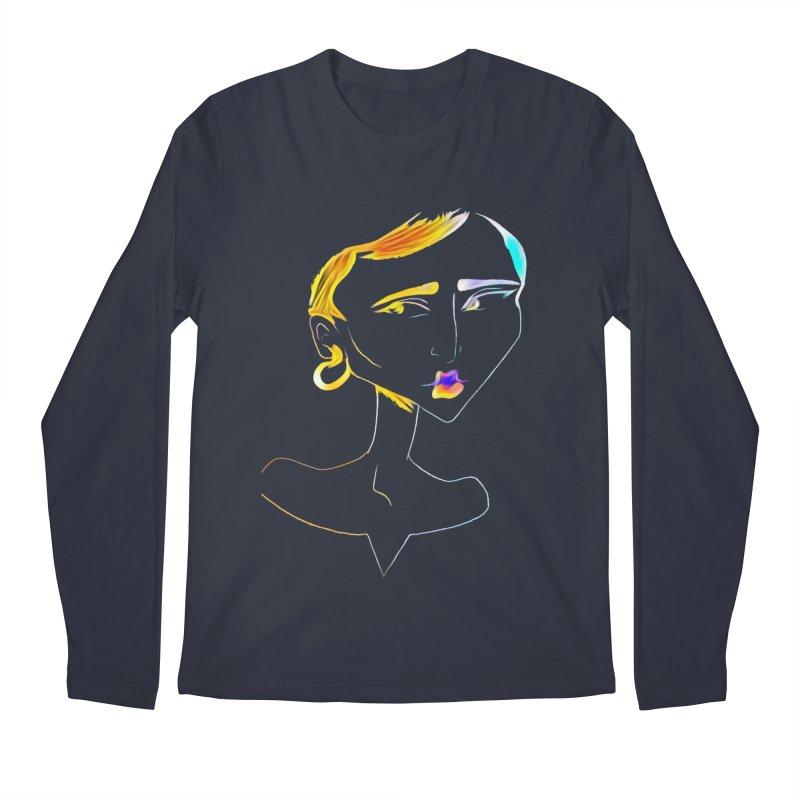 Café Neuf Men's Longsleeve T-Shirt by dasiavou's Artist Shop
