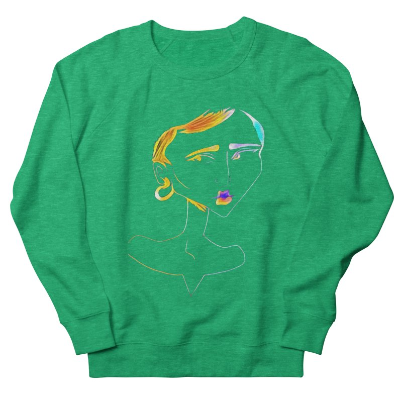 Café Neuf Women's Sweatshirt by dasiavou's Artist Shop