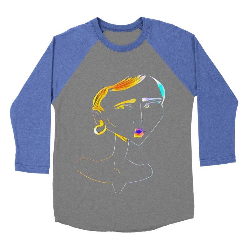 Café Neuf Women's Baseball Triblend T-Shirt by dasiavou's Artist Shop