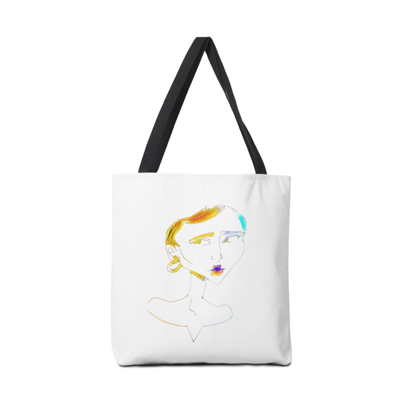Café Neuf Accessories Bag by dasiavou's Artist Shop
