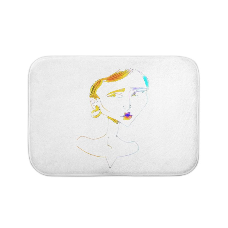 Café Neuf Home Bath Mat by dasiavou's Artist Shop