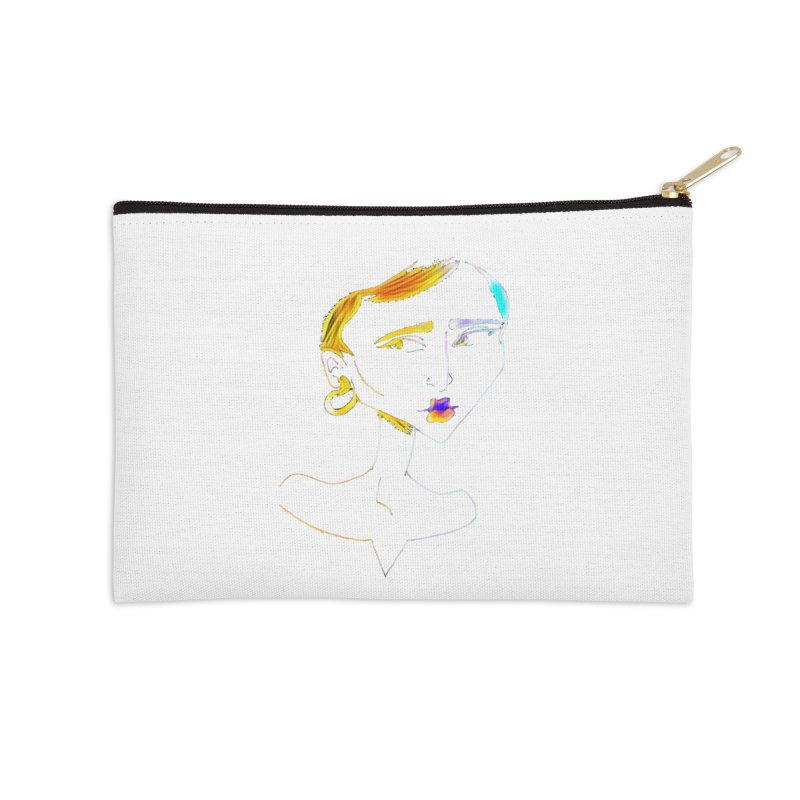 Café Neuf Accessories Zip Pouch by dasiavou's Artist Shop