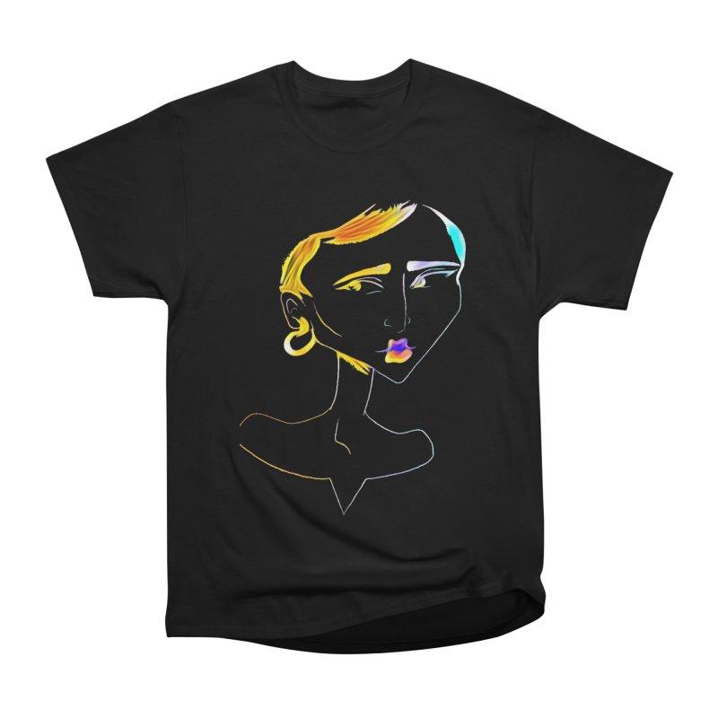 Café Neuf Women's Classic Unisex T-Shirt by dasiavou's Artist Shop