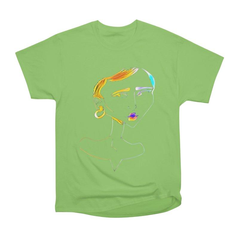 Café Neuf Men's Heavyweight T-Shirt by dasiavou's Artist Shop