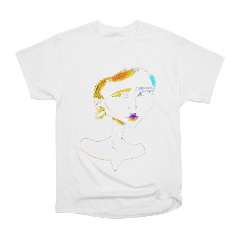 Café Neuf Women's Heavyweight Unisex T-Shirt by dasiavou's Artist Shop
