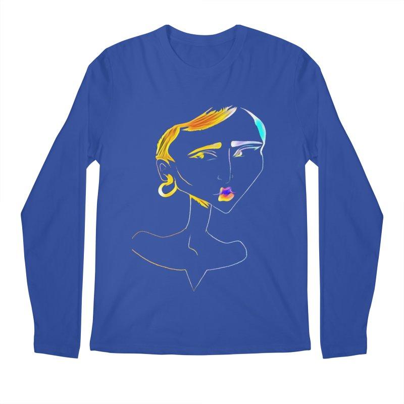 Café Neuf Men's Regular Longsleeve T-Shirt by dasiavou's Artist Shop
