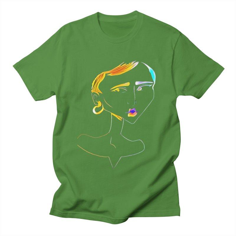 Café Neuf Women's Regular Unisex T-Shirt by dasiavou's Artist Shop