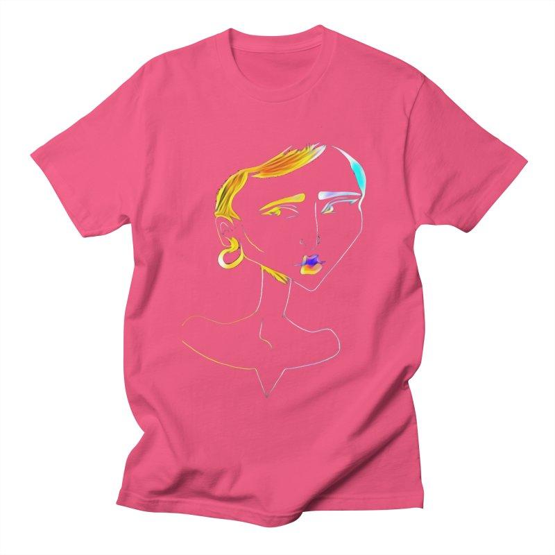 Café Neuf Men's Regular T-Shirt by dasiavou's Artist Shop