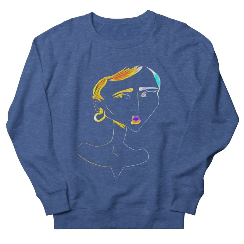 Café Neuf Women's Sweatshirt by dasiavou's Artist Shop