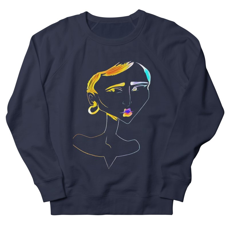 Café Neuf Women's French Terry Sweatshirt by dasiavou's Artist Shop