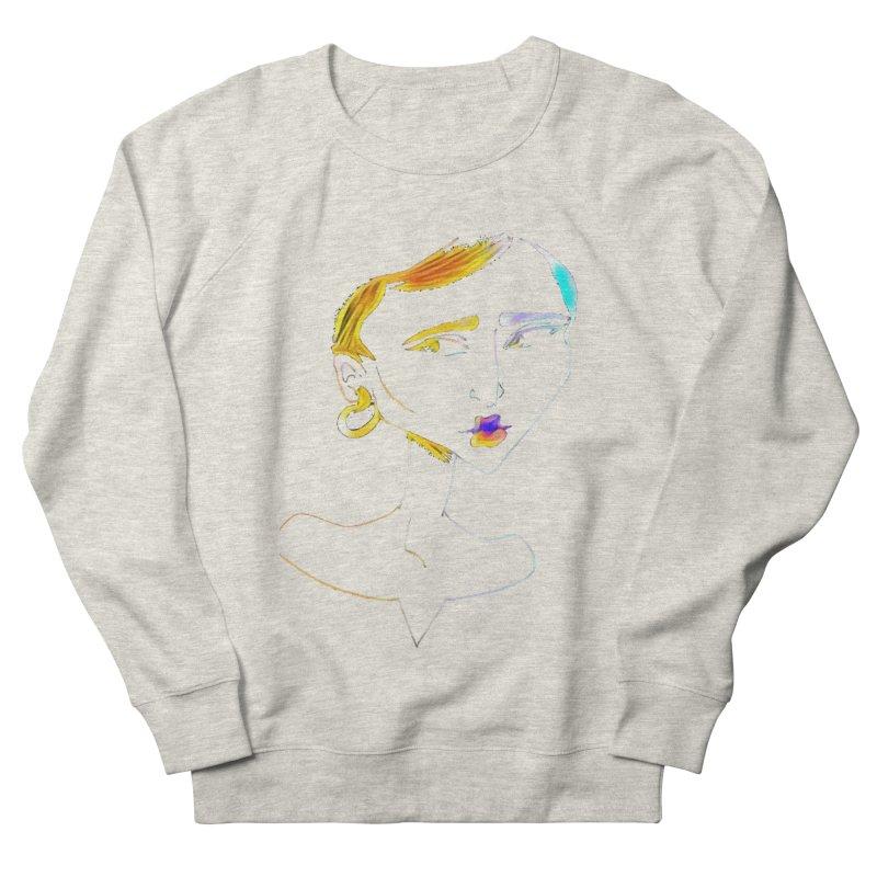 Café Neuf Women's French Terry Sweatshirt by dasiavou's Artist Shop