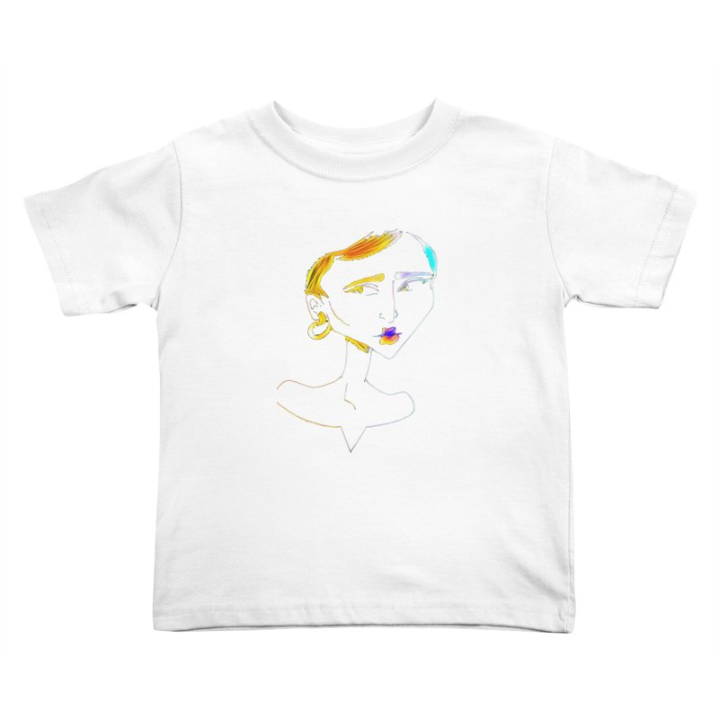 Café Neuf Kids Toddler T-Shirt by dasiavou's Artist Shop