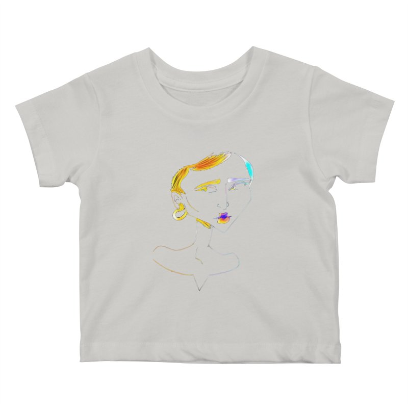 Café Neuf Kids Baby T-Shirt by dasiavou's Artist Shop