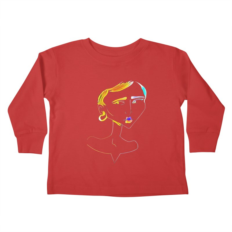Café Neuf Kids Toddler Longsleeve T-Shirt by dasiavou's Artist Shop