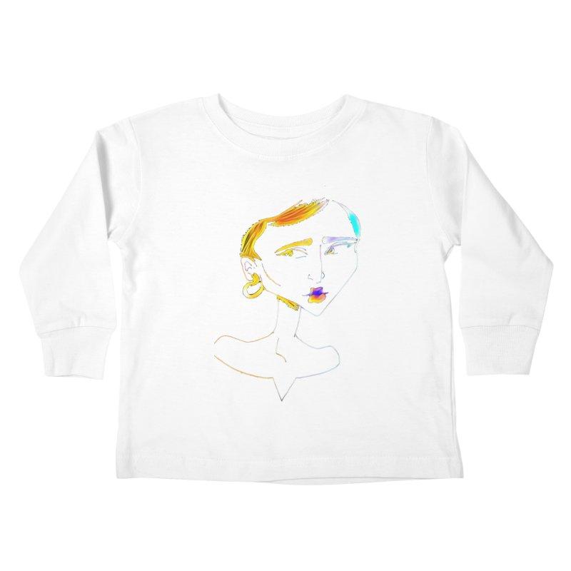 Café Neuf Kids Toddler Longsleeve T-Shirt by dasiavou's Artist Shop