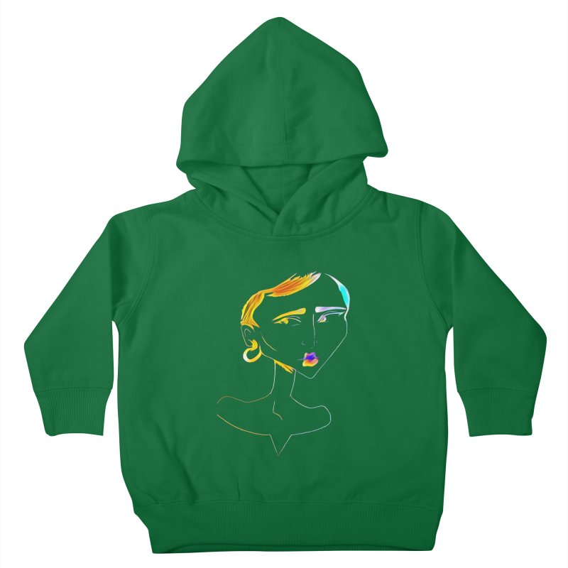 Café Neuf Kids Toddler Pullover Hoody by dasiavou's Artist Shop