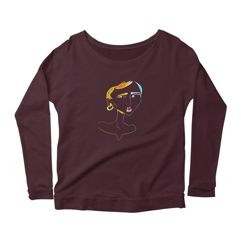 Café Neuf Women's Longsleeve T-Shirt by dasiavou's Artist Shop