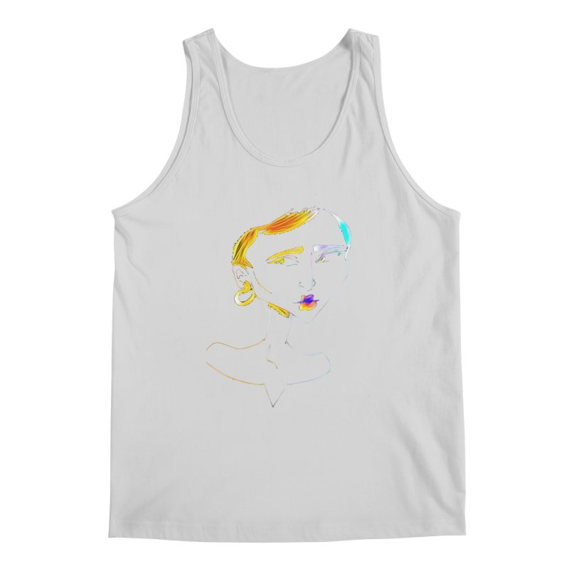 Café Neuf Men's Regular Tank by dasiavou's Artist Shop