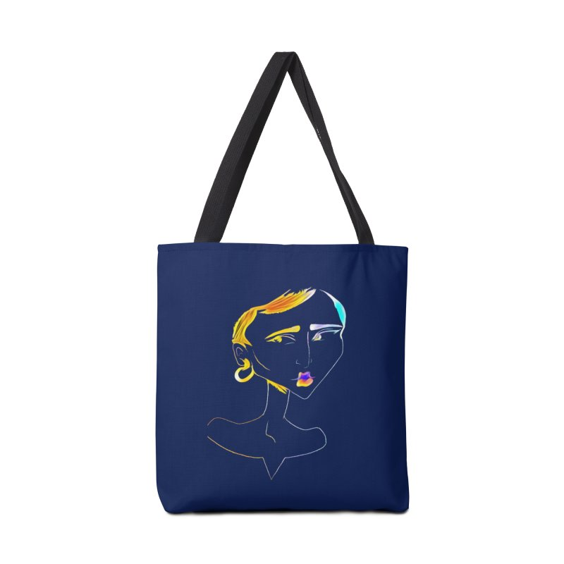 Café Neuf Accessories Bag by dasiavou's Artist Shop