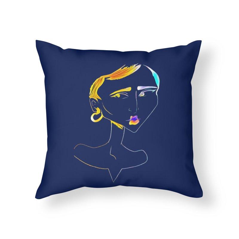 Café Neuf Home Throw Pillow by dasiavou's Artist Shop