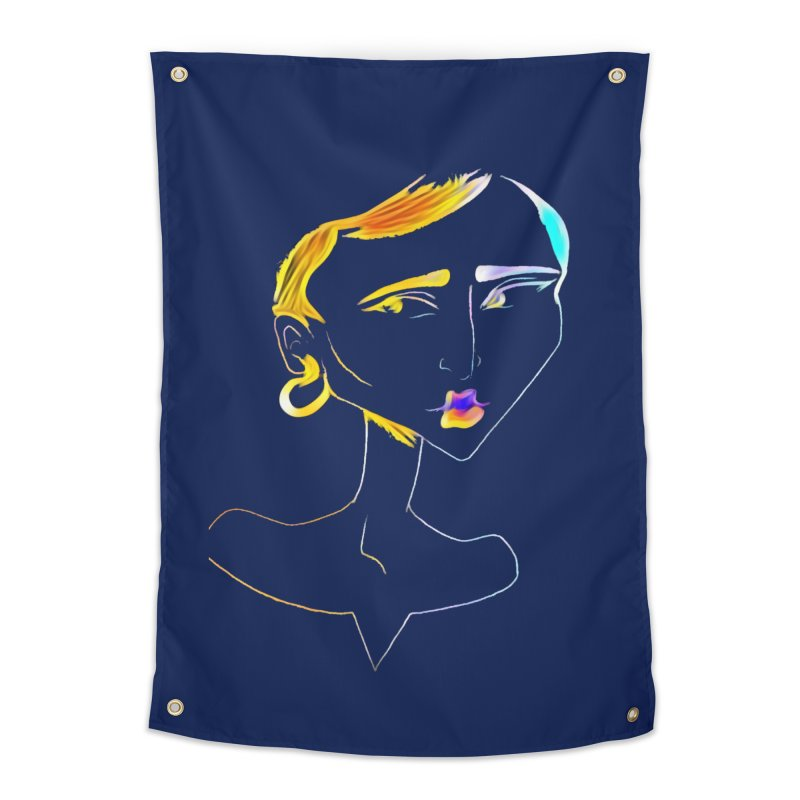 Café Neuf Home Tapestry by dasiavou's Artist Shop