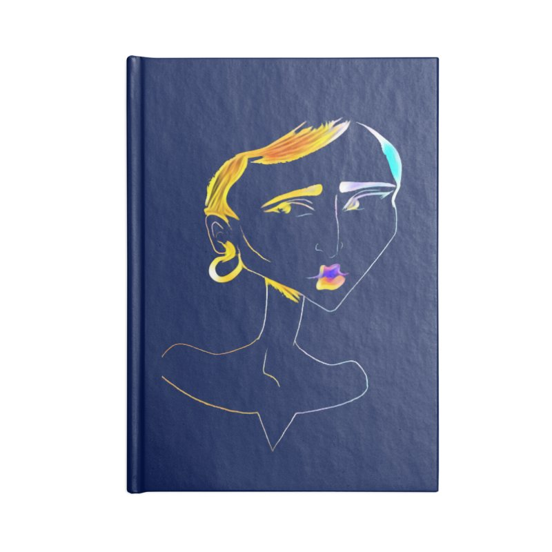 Café Neuf Accessories Notebook by dasiavou's Artist Shop