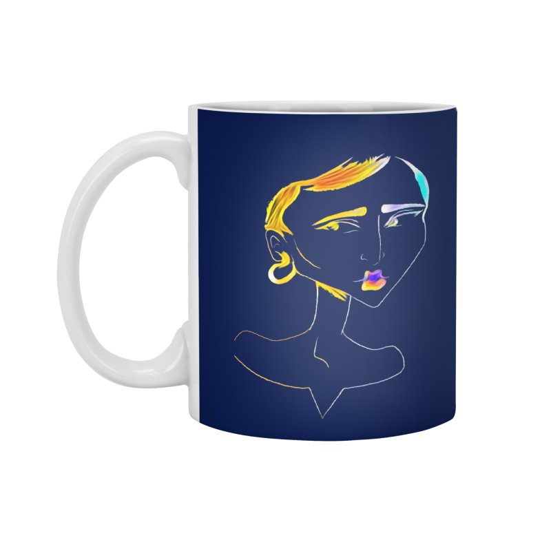 Café Neuf Accessories Mug by dasiavou's Artist Shop