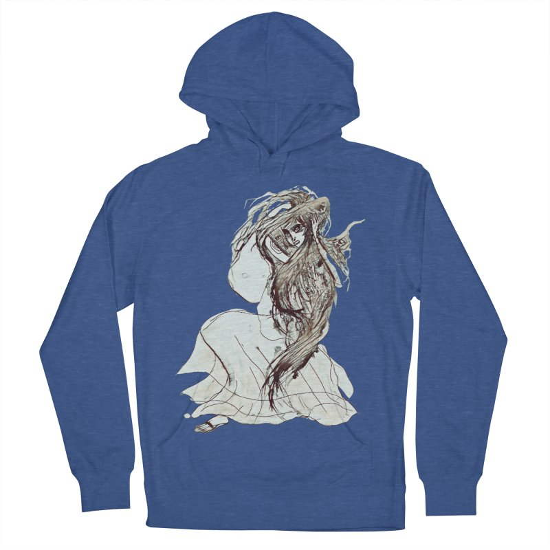 Frustration Women's French Terry Pullover Hoody by dasiavou's Artist Shop