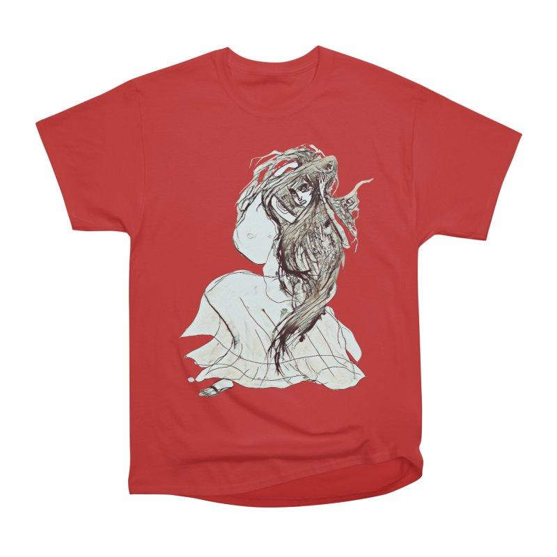 Frustration Men's Heavyweight T-Shirt by dasiavou's Artist Shop