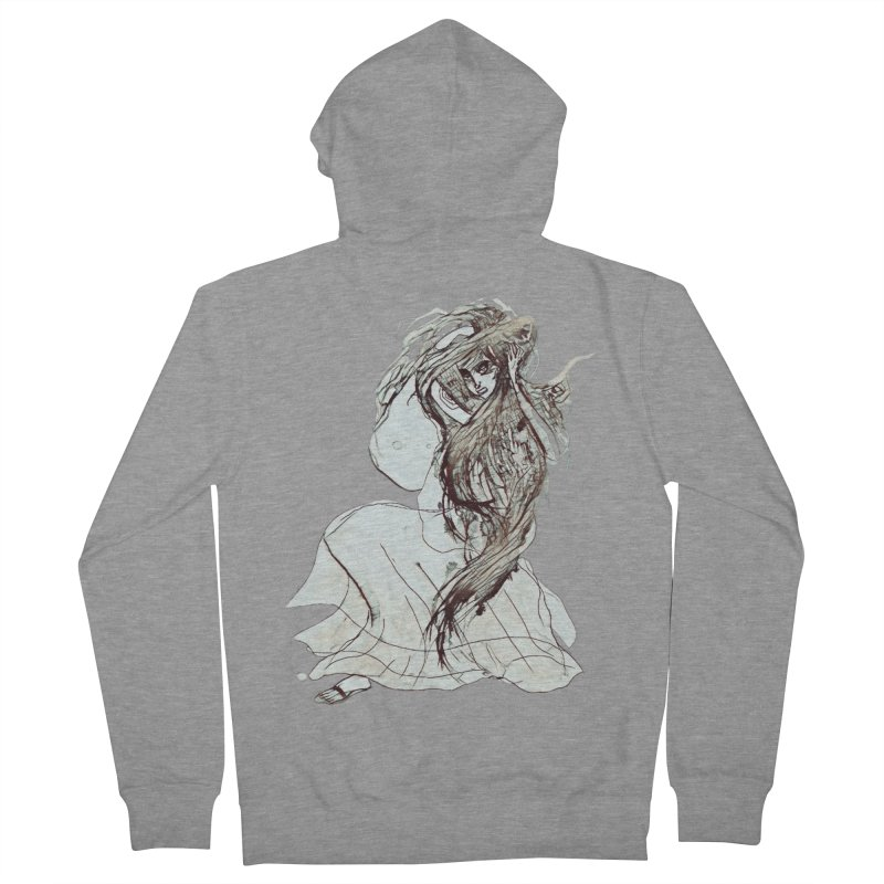 Frustration Women's Zip-Up Hoody by dasiavou's Artist Shop