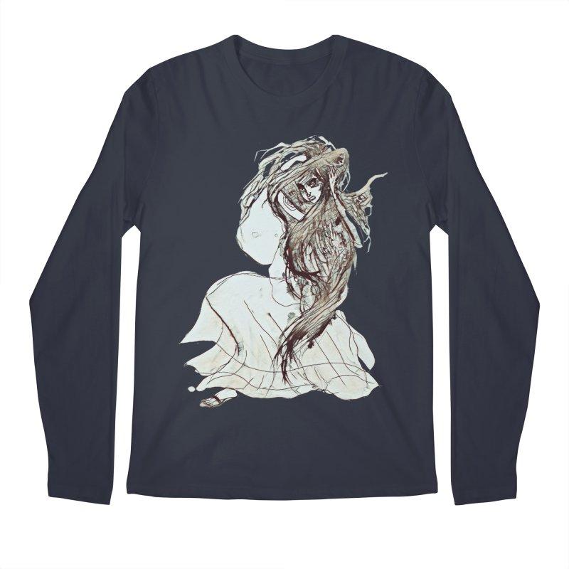 Frustration Men's Regular Longsleeve T-Shirt by dasiavou's Artist Shop