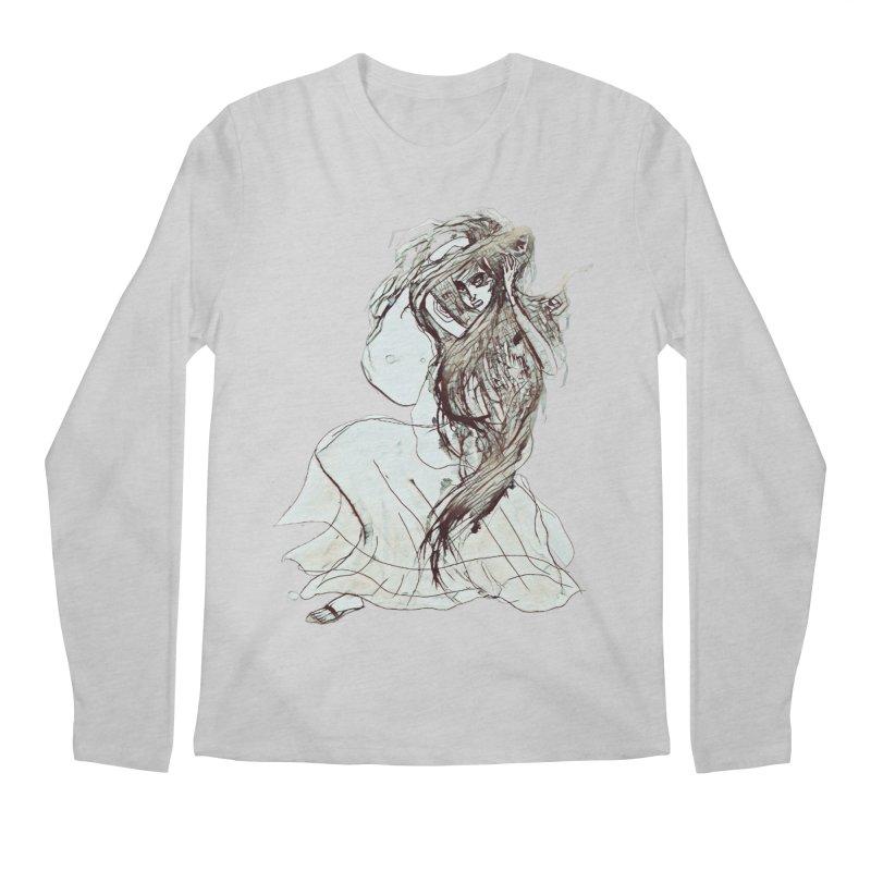 Frustration Men's Longsleeve T-Shirt by dasiavou's Artist Shop