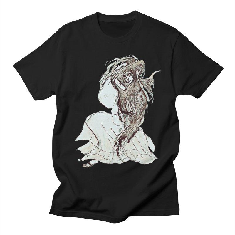 Frustration Men's Regular T-Shirt by dasiavou's Artist Shop