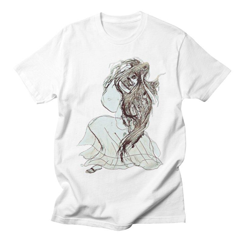 Frustration Men's T-shirt by dasiavou's Artist Shop