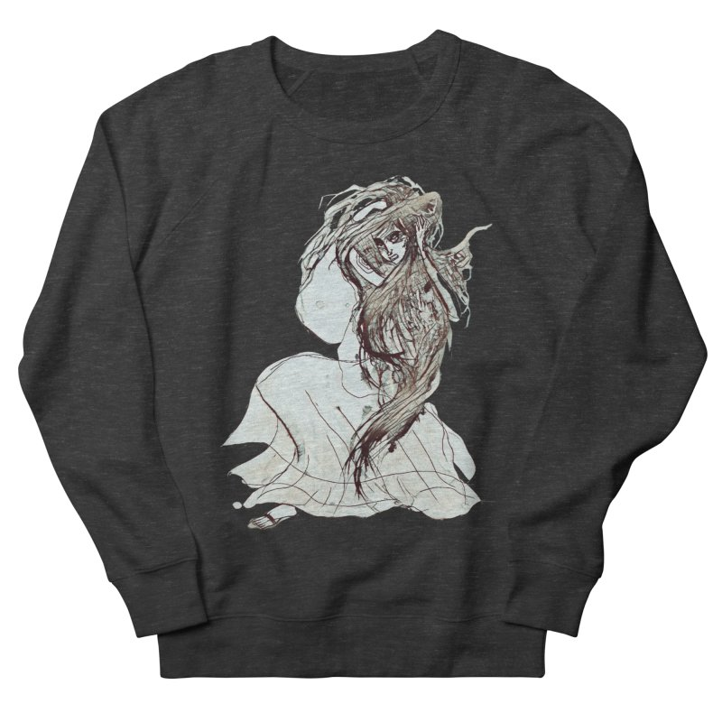 Frustration Women's French Terry Sweatshirt by dasiavou's Artist Shop