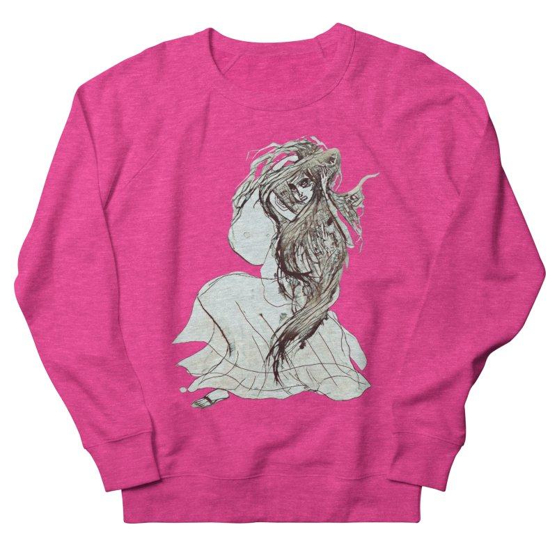 Frustration Men's French Terry Sweatshirt by dasiavou's Artist Shop