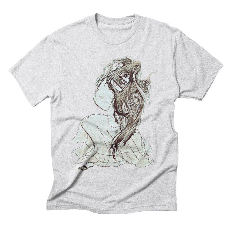 Frustration Men's Triblend T-Shirt by dasiavou's Artist Shop