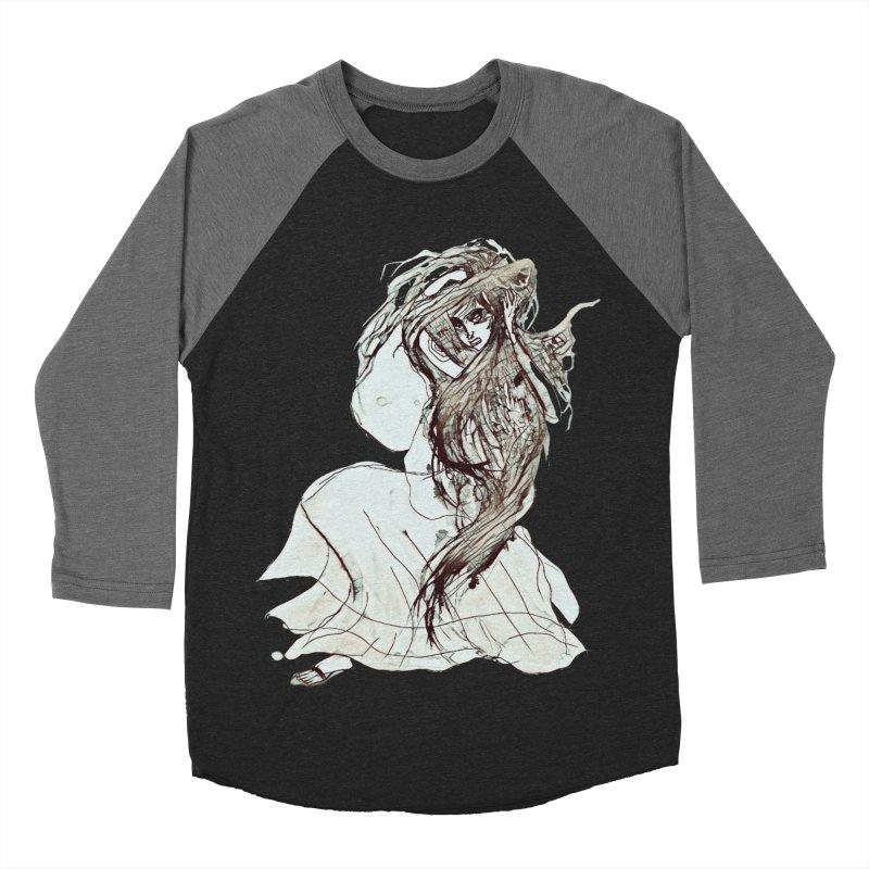 Frustration Women's Baseball Triblend Longsleeve T-Shirt by dasiavou's Artist Shop