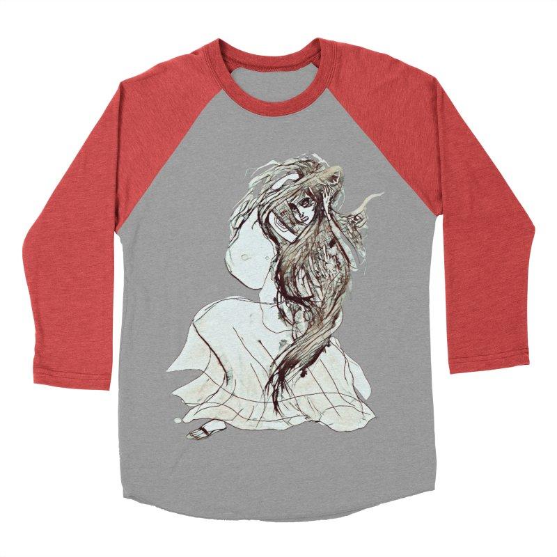 Frustration Men's Baseball Triblend T-Shirt by dasiavou's Artist Shop