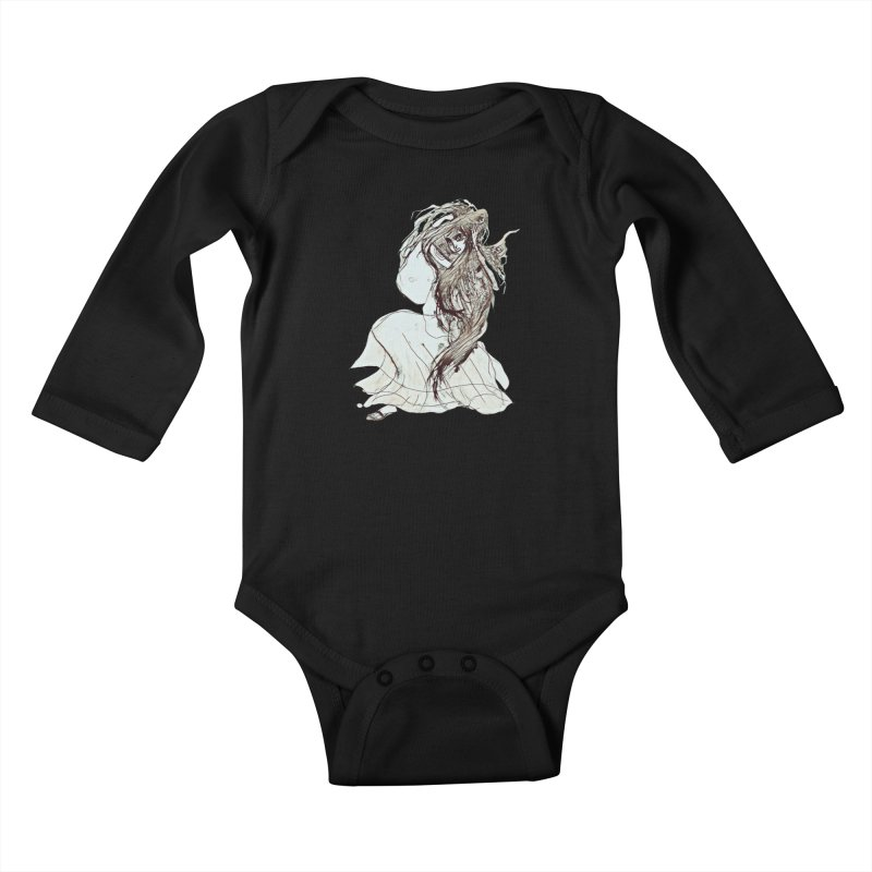 Frustration Kids Baby Longsleeve Bodysuit by dasiavou's Artist Shop
