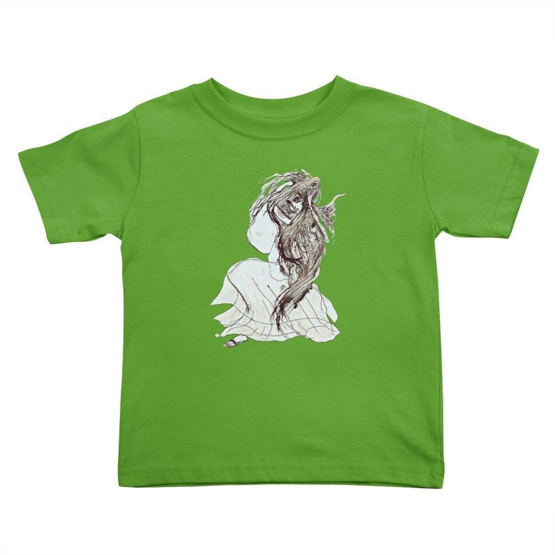 Frustration Kids Toddler T-Shirt by dasiavou's Artist Shop
