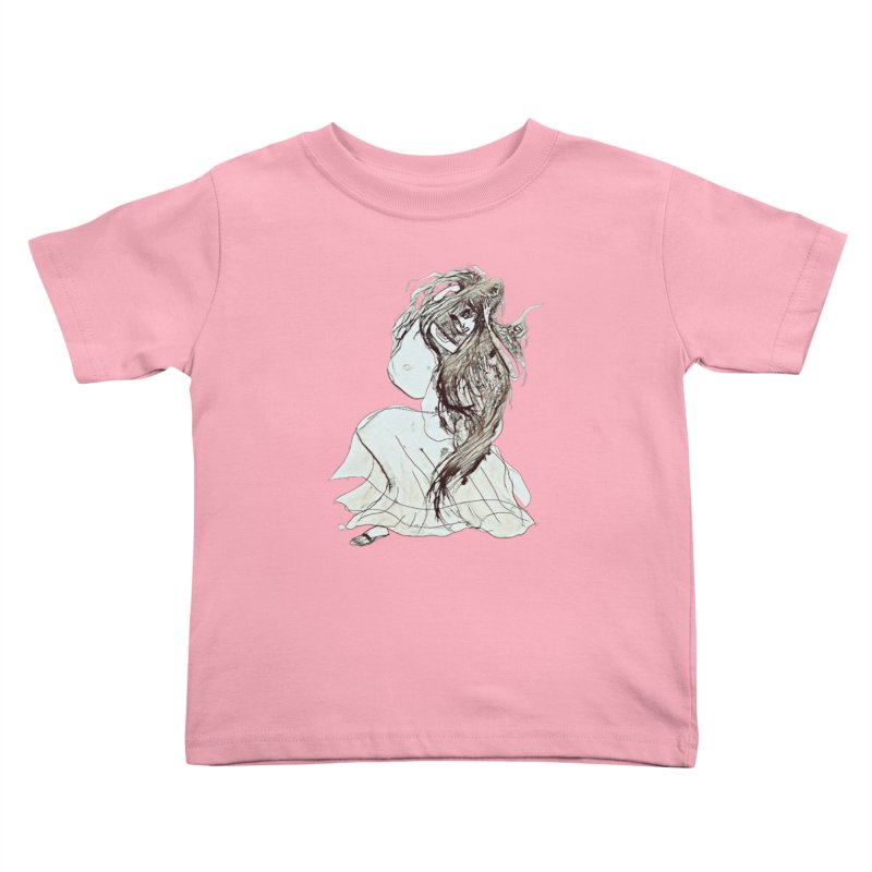 Frustration Kids Toddler T-Shirt by dasiavou's Artist Shop