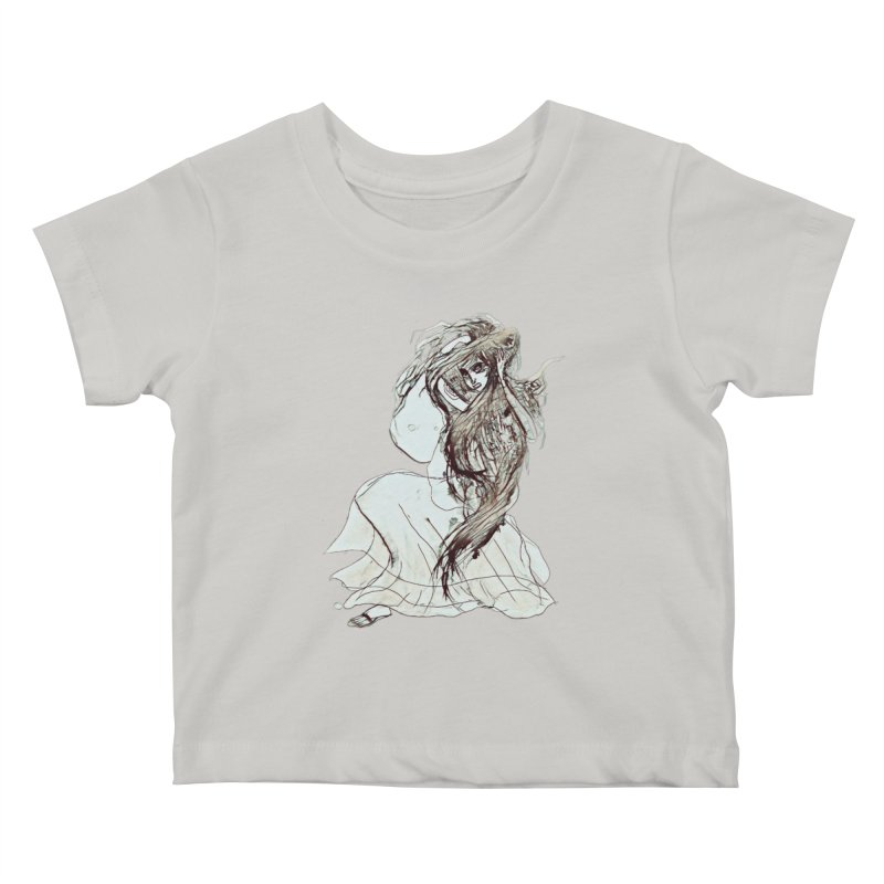 Frustration Kids Baby T-Shirt by dasiavou's Artist Shop