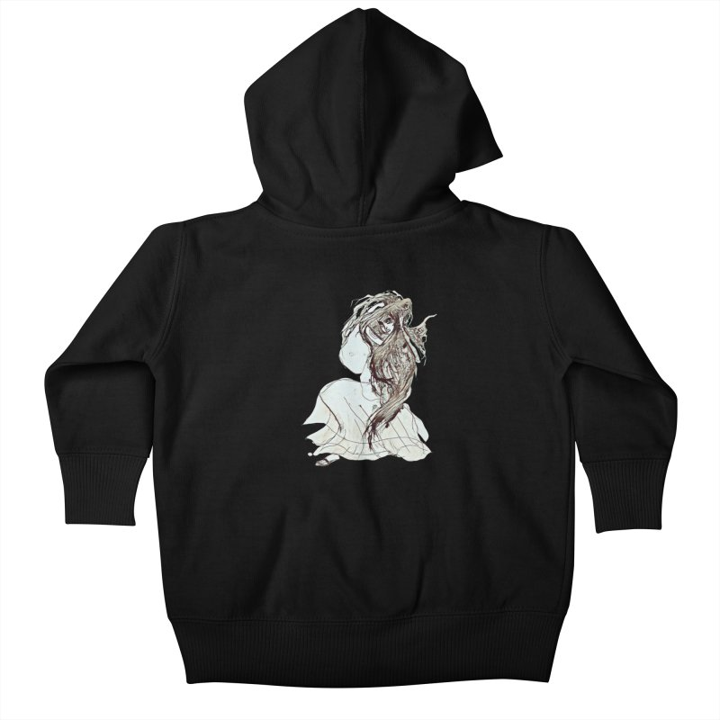 Frustration Kids Baby Zip-Up Hoody by dasiavou's Artist Shop