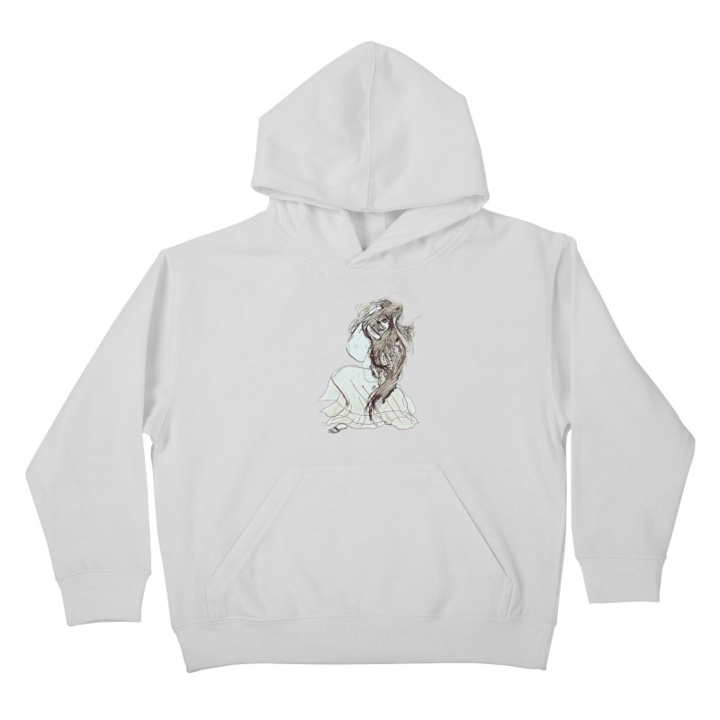 Frustration Kids Pullover Hoody by dasiavou's Artist Shop