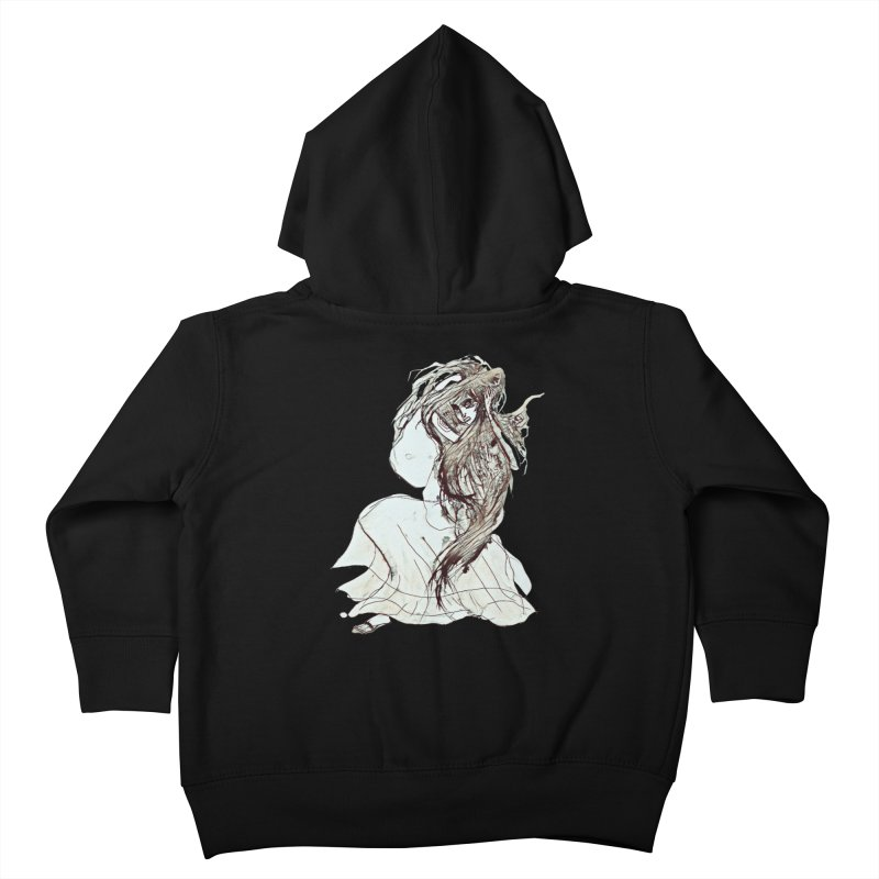 Frustration Kids Toddler Zip-Up Hoody by dasiavou's Artist Shop