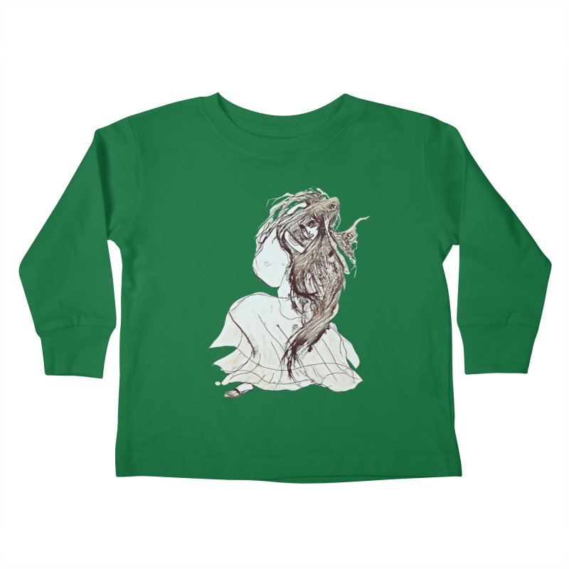 Frustration Kids Toddler Longsleeve T-Shirt by dasiavou's Artist Shop