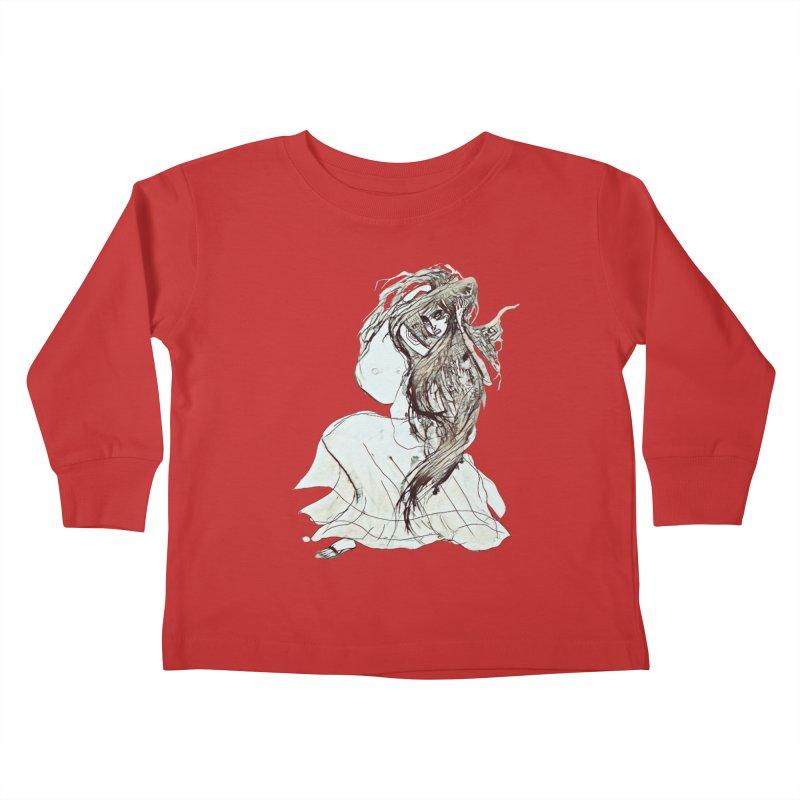 Frustration Kids Toddler Longsleeve T-Shirt by dasiavou's Artist Shop