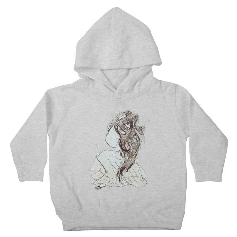 Frustration Kids Toddler Pullover Hoody by dasiavou's Artist Shop